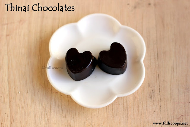 Thinai Chocolate