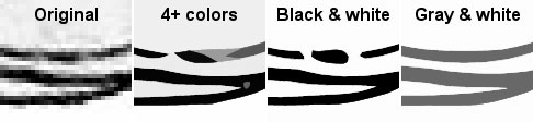 Specifying the colors appropriately can mean the difference between a poor and a directly usable result