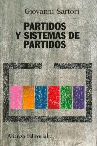 Partidos y sistemas de partidos: marco para un análisis - G. Sartori