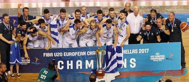Το «αύριο» του ελληνικού μπάσκετ είναι χρυσό!
