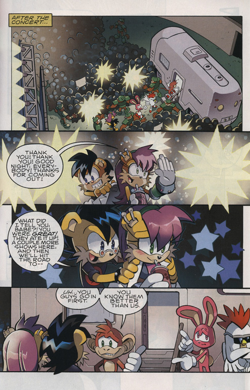 Read online Sonic The Hedgehog comic -  Issue #221 - 15