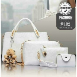 HOT PROMO FASHION BAG SET 4 IN 1