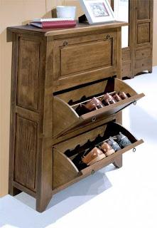 mueble zapatero rustico, mueble zapatos, mueble rustico para zapatos