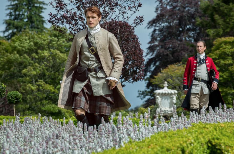 Outlander Seasons 2 Versailles Drummond Castle Scotland