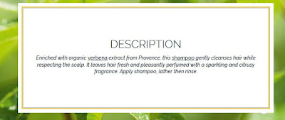 About L'Occitane Verbena Shampoo