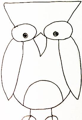 30 Free Download Info Cara Menggambar Burung Hantu Yang Mudah Psd