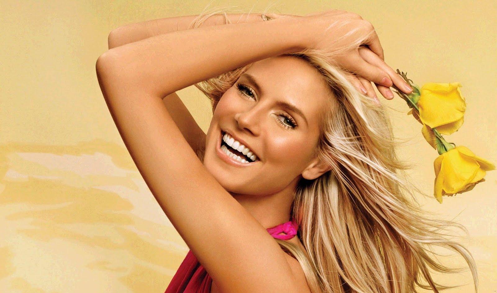 Heidi Klum: Heidi Klum Victoria Secret Model Wallpapers