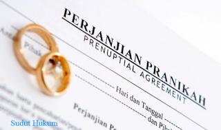 Syarat-syarat Perjanjian Pra Nikah