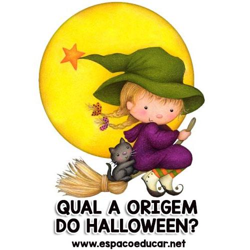 Qual a origem e os símbolos do Halloween  - ESPAÇO EDUCAR 883015465119