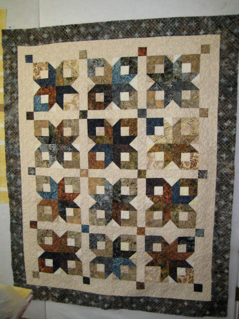 Boxy Stars Quilt Free Tutorial