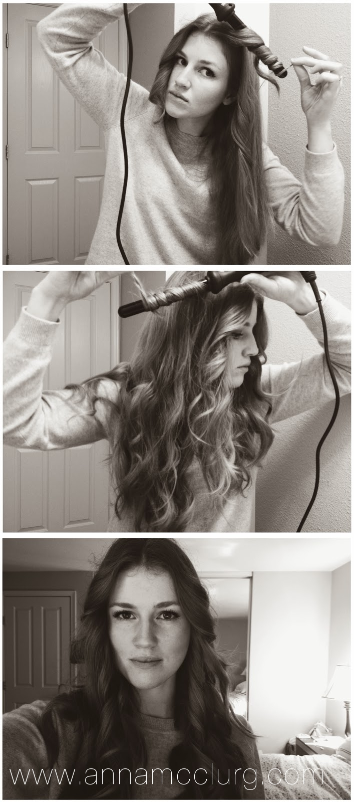 Anna allen clothing blog how to curl your hair in less for Anna wand