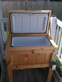 Outdoor Cooler Stand