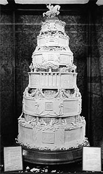 queen elizabeth ii wedding cake tables of content wedding cakes what do you want to say 18935
