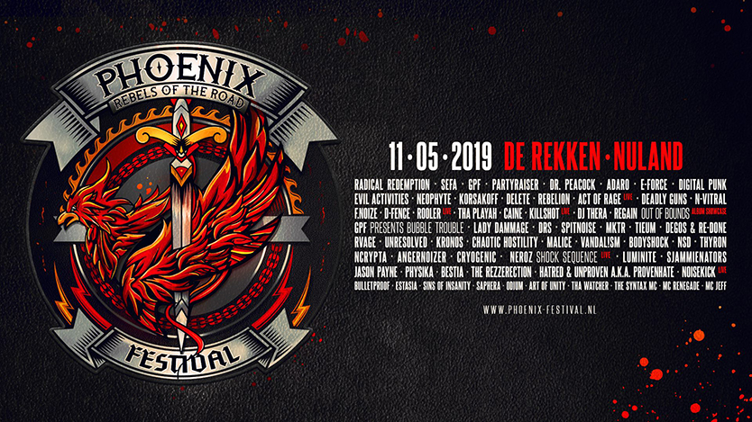 phoenix, hardcore, frenchcore, uptempo, terror, hardstyle, freestyle, muziek, musicinfluencer, festival, festivalblogger, festivalinfluencer, festivalvlogger, LaVieFleurit.com