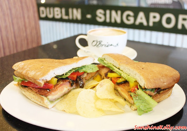Create My Own Sandwich, O'Briens, O'Briens Irish Sandwich Cafe, O'Briens Sandwich, Cafe, healthy meal, hearty meal