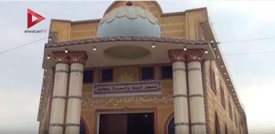 قبطي يتبرع بقطعة أرض لإقامة مسجد بقليوب ..والأهالي يبنوه بجهودهم الذاتية