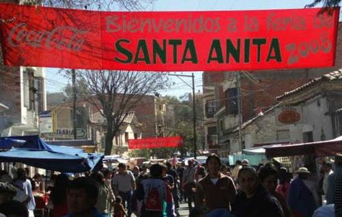 La feria de Santa Anita será trasladada al campo ferial del barrio el Constructor