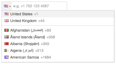 How to validate all countries phone numbers using jQuery | jQuery By