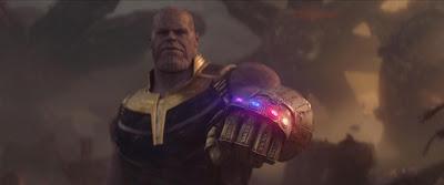 infinity war iron man titan thanos