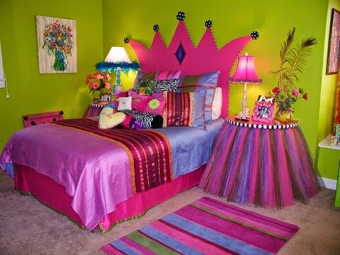 dormitorio niña princesa