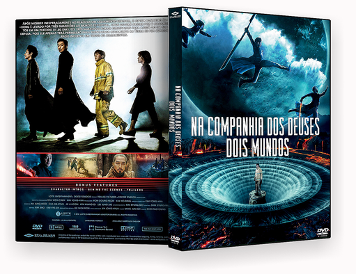 CAPA DVD – Na companhia Dos Deuses Dois Mundos DVD-R