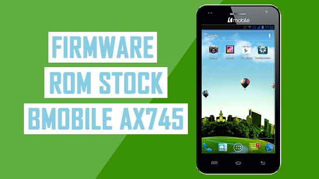 rom stock Bmobile AX745