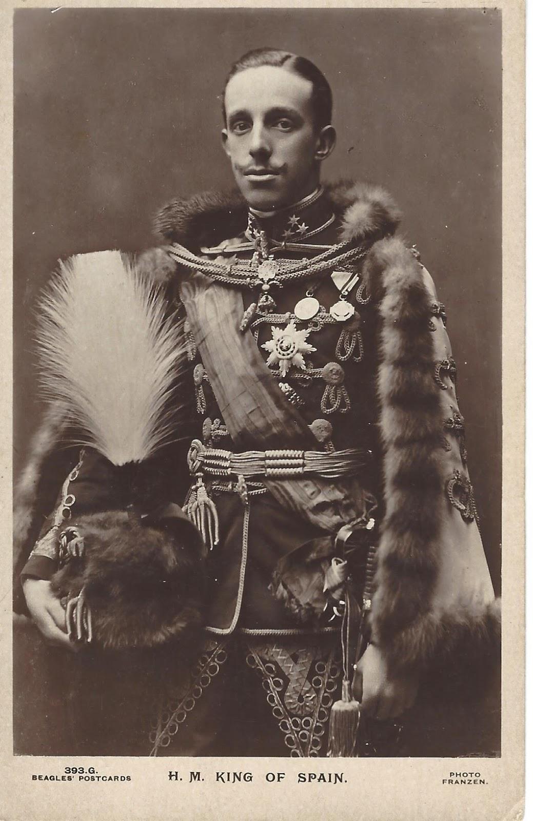 Royal Musings: King Alfonso XIII dead at 54