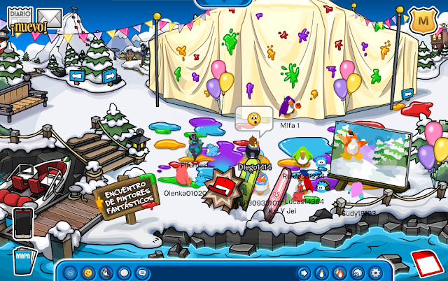 Club Penguin Mini Evento