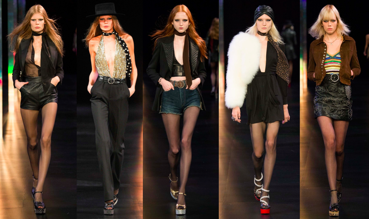 hedi slimane, ysl, catwalk, runway, fashion week, designer, rtw