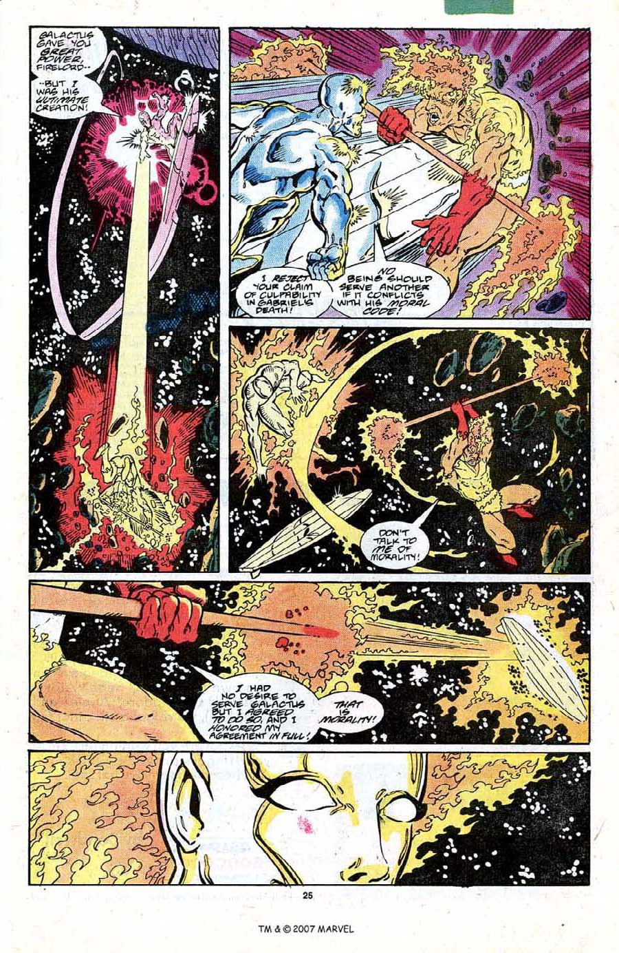 Read online Silver Surfer (1987) comic -  Issue #19 - 27