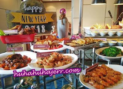 Makan Malam Tahun Baru Di Grand BlueWave Hotel Shah Alam