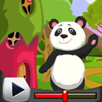 G4K Cute Panda Rescue Game Walkthrough