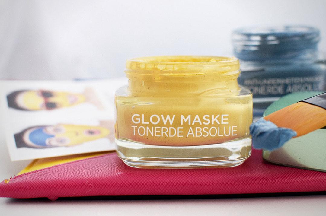 Die neue L'Oréal Glow Maske im Test, neue Maske, #claymoji
