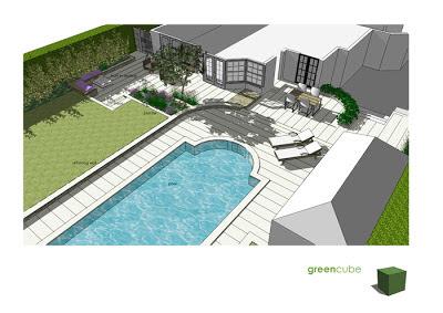 Greencube garden and landscape design uk garden design for Pool design uk