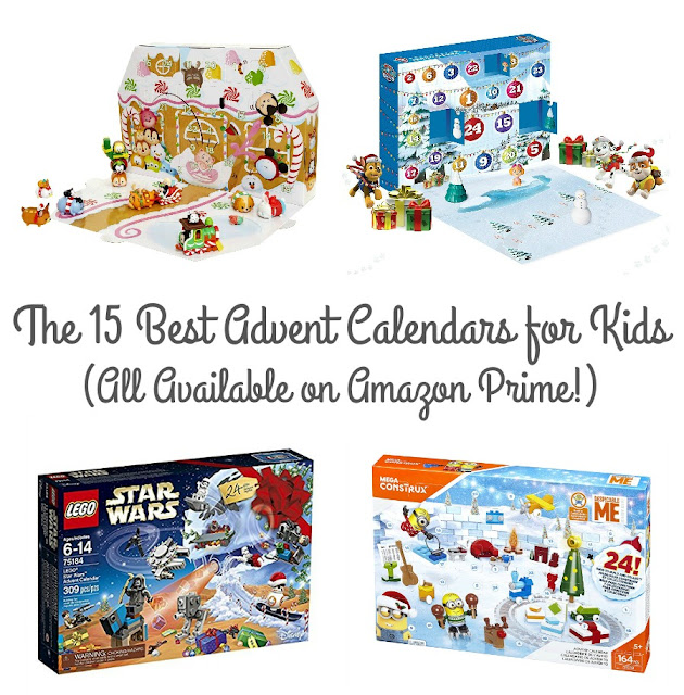 From the LEGO enthusiast to the creative & crafty one to the Disney obsessed kiddo, there is a fun advent calendar for every child in your family in this collection of the 15 Best Christmas Advent Calendars for Kids on Amazon.