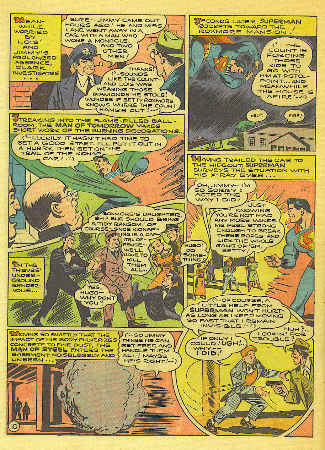 Read online Action Comics (1938) comic -  Issue #71 - 12