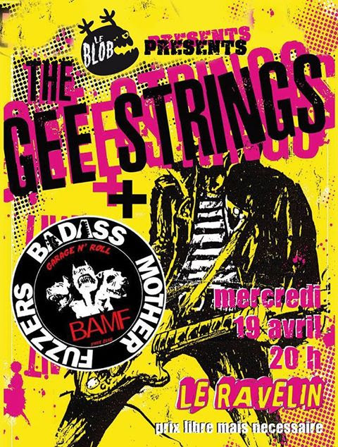 with The Gee Strings, Ravlin, toulouse, 19/4 !!!