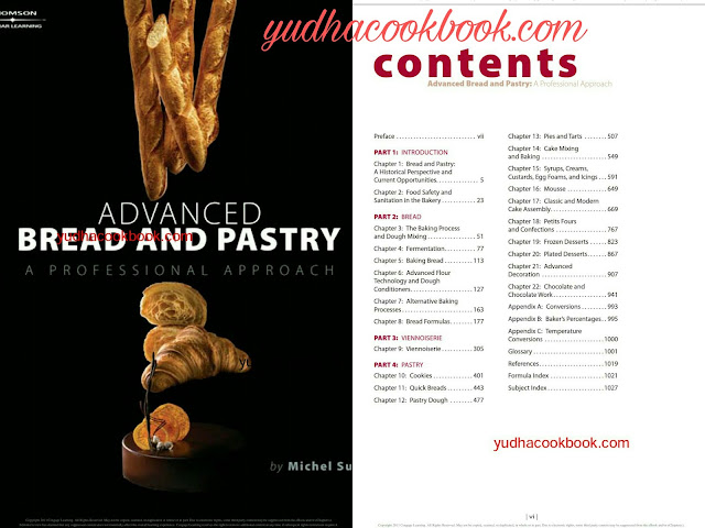 Bread and pastry cook book, ADVANCED BREAD AND PASTRY  - A PROFESSIONAL APPROACH