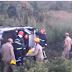 Três pessoas ficam feridas após capotamento entre São Gonçalo e São José da Lagoa Tapada
