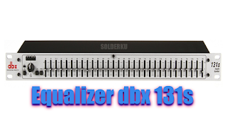 Equalizer dbx 131s