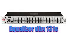 Fitur Equalizer dbx 131s