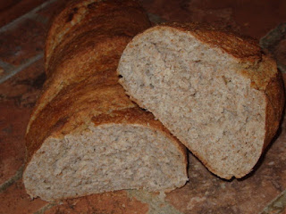 recetas de pan integral casero