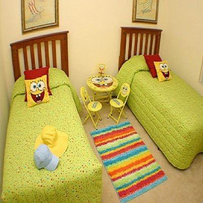 chambre sponge bob