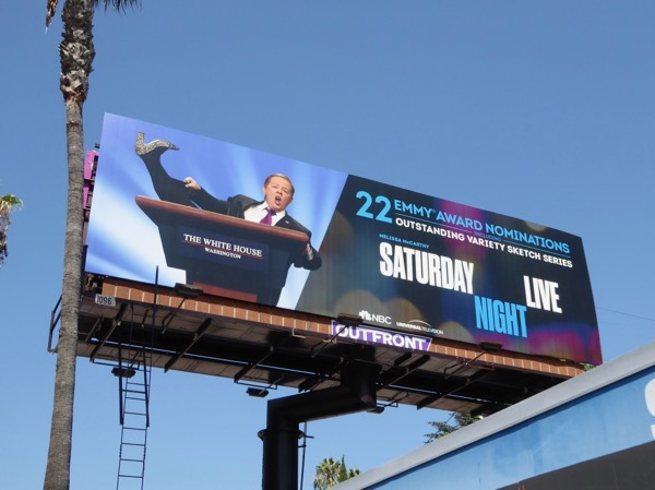 Melissa McCarthy SNL Spicey Emmy nominations billboard