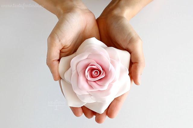 Tutorial rosa de azúcar