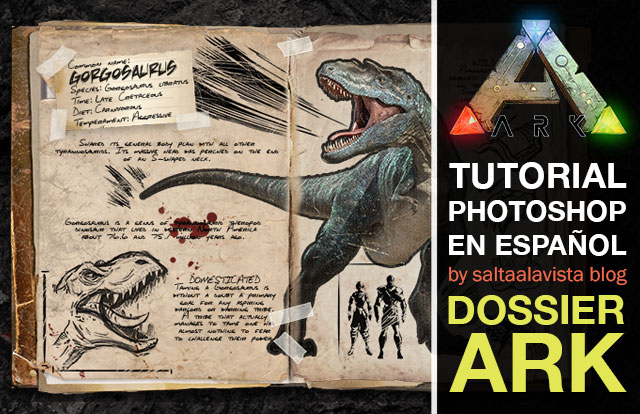 Tutorial-Photoshop-Dossier-Dinosaurio-Ark