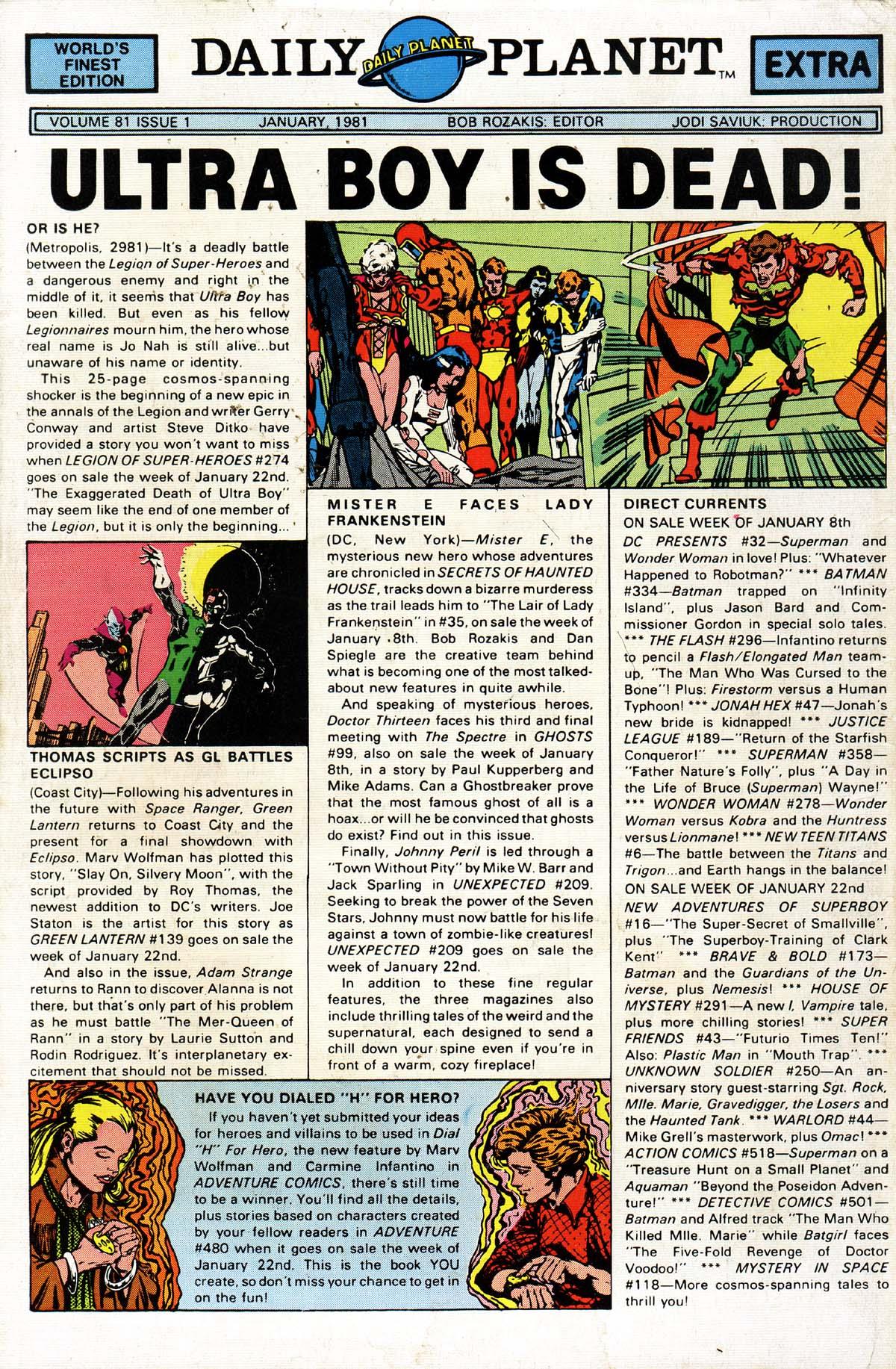 Read online World's Finest Comics comic -  Issue #268 - 52