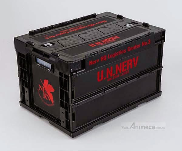 NERV Headquarters 3rd Logistics Center Foldable Container Ver.2 Rebuild of Evangelion Groove Garage