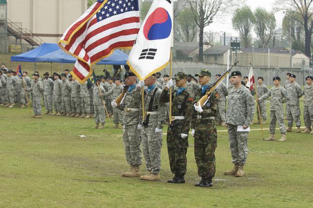 Manœuvres conjointes Corée et USA
