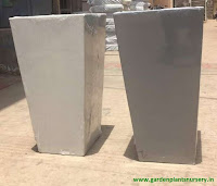 Square plastic pots India